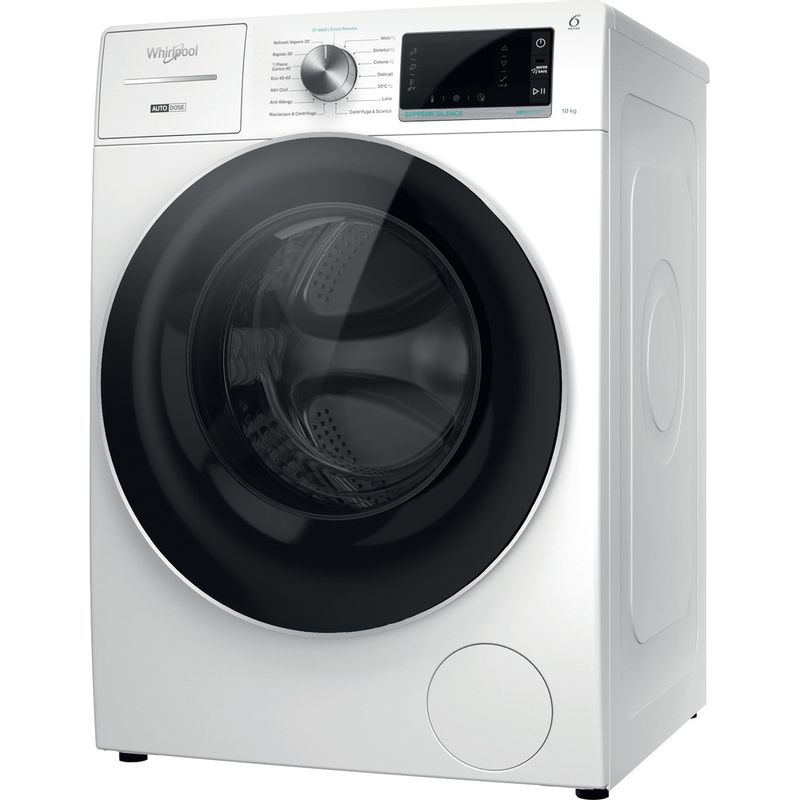 Whirlpool-Lavabiancheria-A-libera-installazione-W8-W046WR-IT-Bianco-Carica-frontale-A-Perspective
