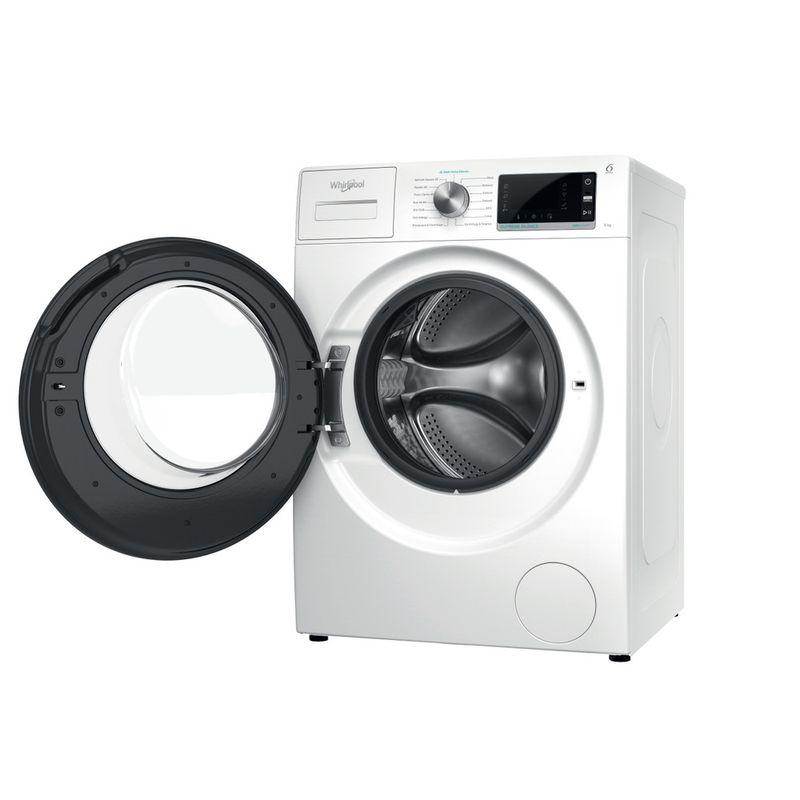 Whirlpool-Lavabiancheria-A-libera-installazione-W6-W945WB-IT-Bianco-Carica-frontale-B-Perspective-open