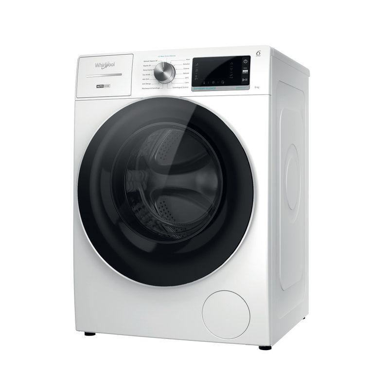 Whirlpool-Lavabiancheria-A-libera-installazione-W7X-W845WR-IT-Bianco-Carica-frontale-B-Perspective
