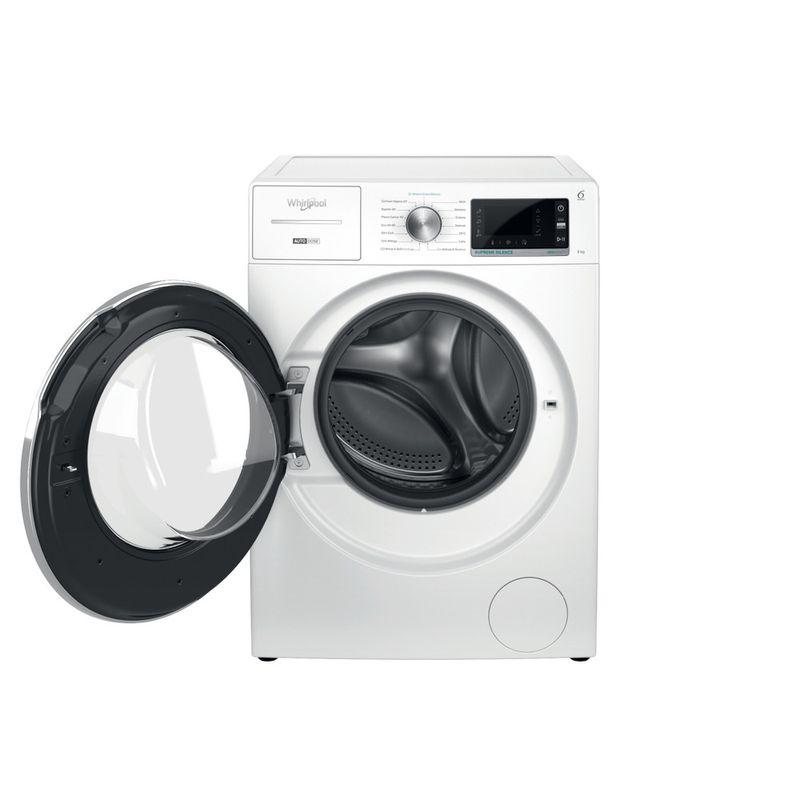 Whirlpool-Lavabiancheria-A-libera-installazione-W7X-W845WR-IT-Bianco-Carica-frontale-B-Frontal-open