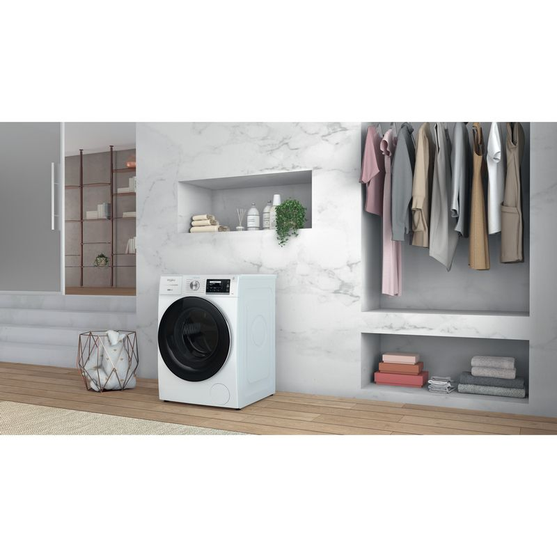 Whirlpool-Lavabiancheria-A-libera-installazione-W7X-W845WR-IT-Bianco-Carica-frontale-B-Lifestyle-perspective