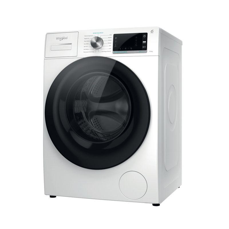 Whirlpool-Lavabiancheria-A-libera-installazione-W6-W045WB-IT-Bianco-Carica-frontale-B-Perspective