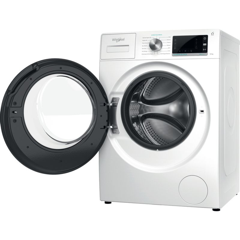 Whirlpool-Lavabiancheria-A-libera-installazione-W6-W045WB-IT-Bianco-Carica-frontale-B-Perspective-open