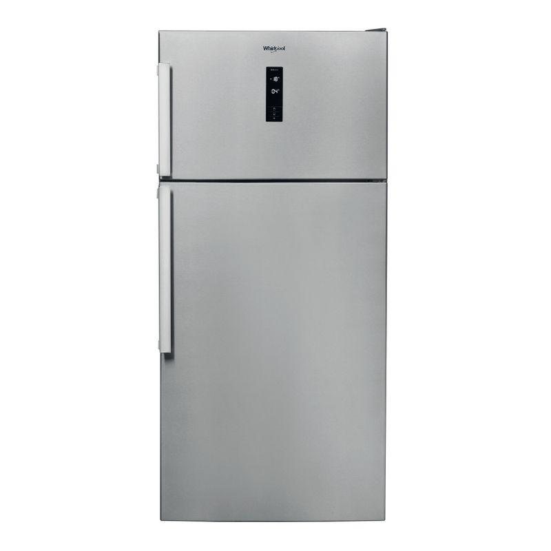 Whirlpool-Combinazione-Frigorifero-Congelatore-A-libera-installazione-W84TE-72-X-2-Inox-2-porte-Frontal
