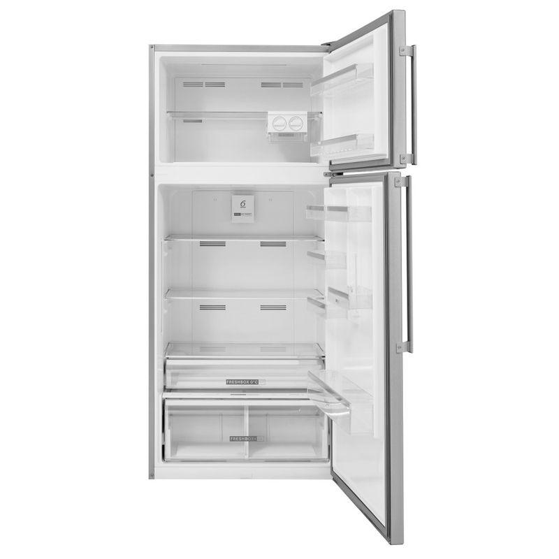 Whirlpool-Combinazione-Frigorifero-Congelatore-A-libera-installazione-W84TE-72-X-2-Inox-2-porte-Frontal-open