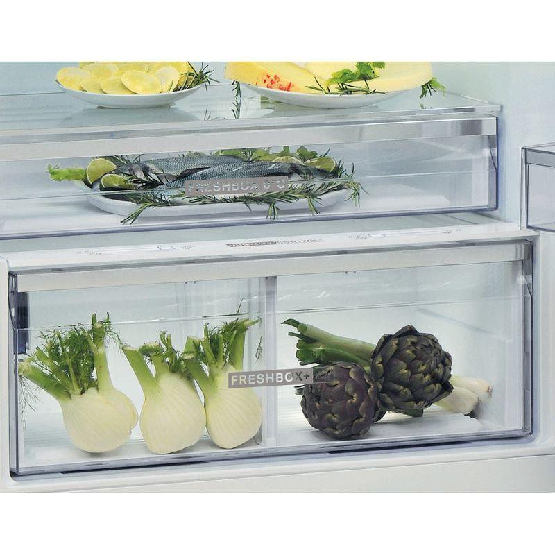 Whirlpool-Combinazione-Frigorifero-Congelatore-A-libera-installazione-W84TE-72-M-2-Marble-2-porte-Drawer