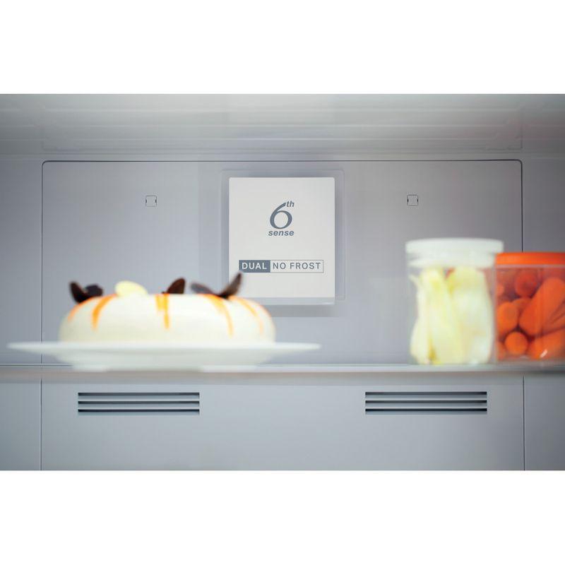 Whirlpool-Combinazione-Frigorifero-Congelatore-A-libera-installazione-W84TE-72-X-AQUA-2-Inox-2-porte-Filter