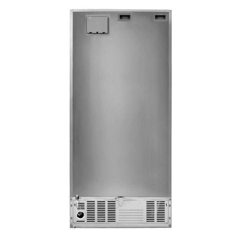Whirlpool-Combinazione-Frigorifero-Congelatore-A-libera-installazione-W84TE-72-X-AQUA-2-Inox-2-porte-Back---Lateral