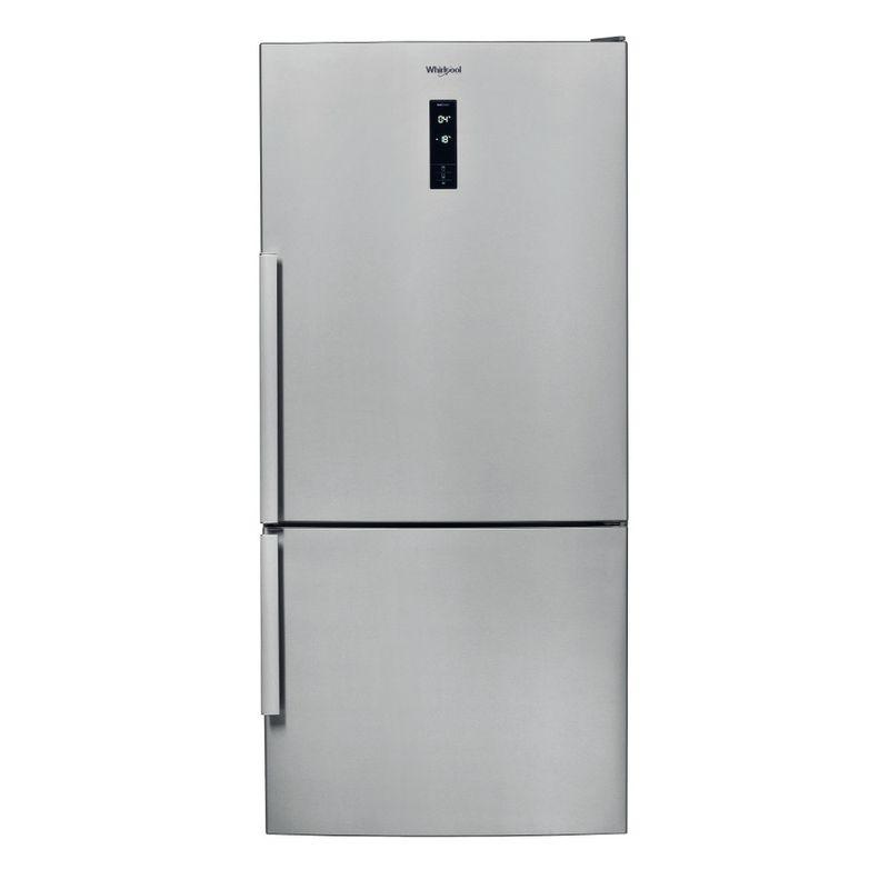 Whirlpool-Combinazione-Frigorifero-Congelatore-A-libera-installazione-W84BE-72-X-2-Inox-2-porte-Frontal