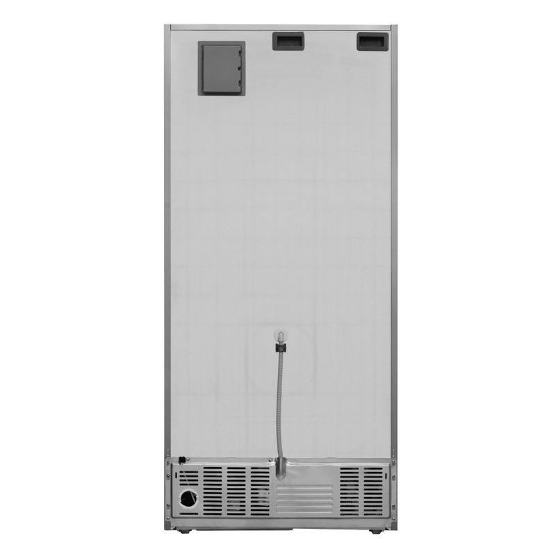 Whirlpool-Combinazione-Frigorifero-Congelatore-A-libera-installazione-W84BE-72-X-2-Inox-2-porte-Back---Lateral