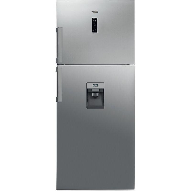 Whirlpool-Combinazione-Frigorifero-Congelatore-A-libera-installazione-WT70E-831-X-AQUA-Optic-Inox-2-porte-Frontal