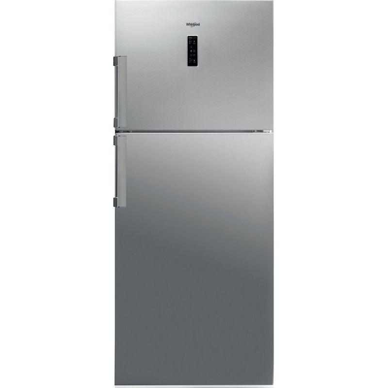 Whirlpool-Combinazione-Frigorifero-Congelatore-A-libera-installazione-WT70E-952-X-Optic-Inox-2-porte-Frontal
