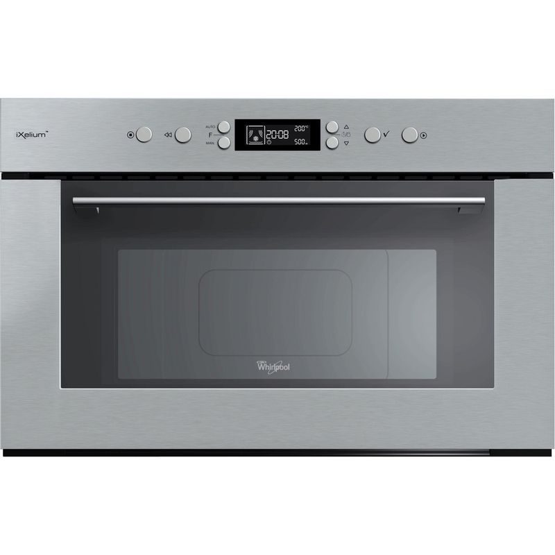 Whirlpool-Microonde-Da-incasso-AMW-735-IXL-Stainless-Steel-Elettronico-31-Microonde---grill-1000-Frontal