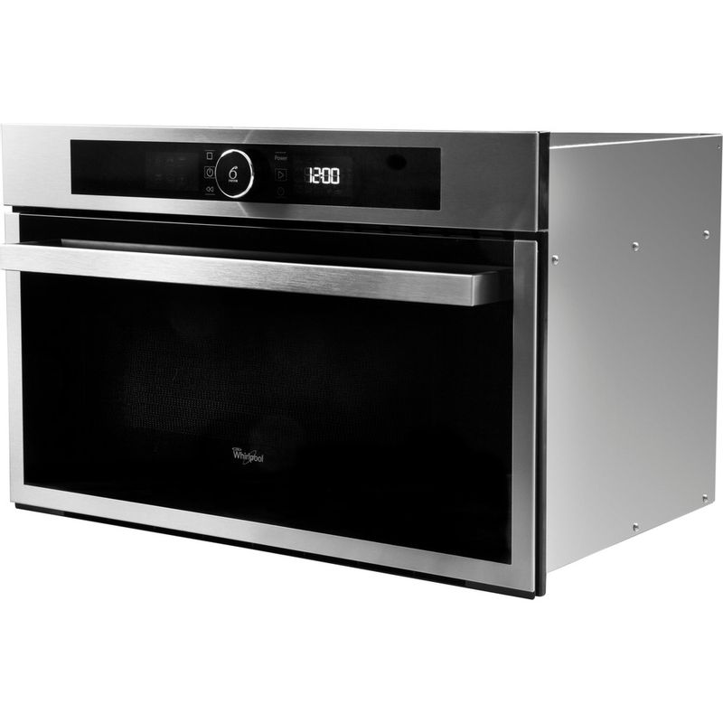 Whirlpool-Microonde-Da-incasso-AMW-731-IX-Stainless-Steel-Elettronico-31-Microonde---grill-1000-Perspective