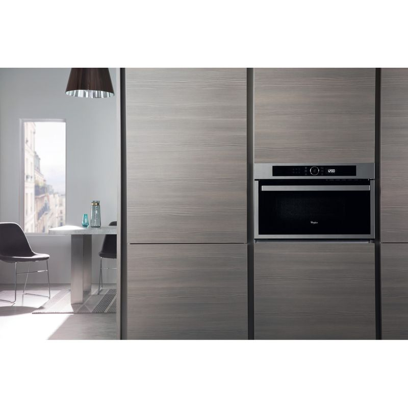 Whirlpool-Microonde-Da-incasso-AMW-731-IX-Stainless-Steel-Elettronico-31-Microonde---grill-1000-Lifestyle-frontal