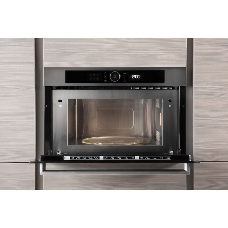 Whirlpool-Microonde-Da-incasso-AMW-731-IX-Stainless-Steel-Elettronico-31-Microonde---grill-1000-Lifestyle-frontal-open