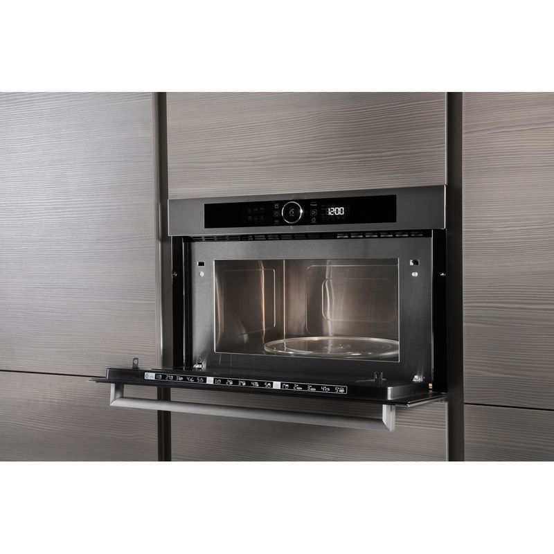 Whirlpool-Microonde-Da-incasso-AMW-731-IX-Stainless-Steel-Elettronico-31-Microonde---grill-1000-Lifestyle-perspective-open
