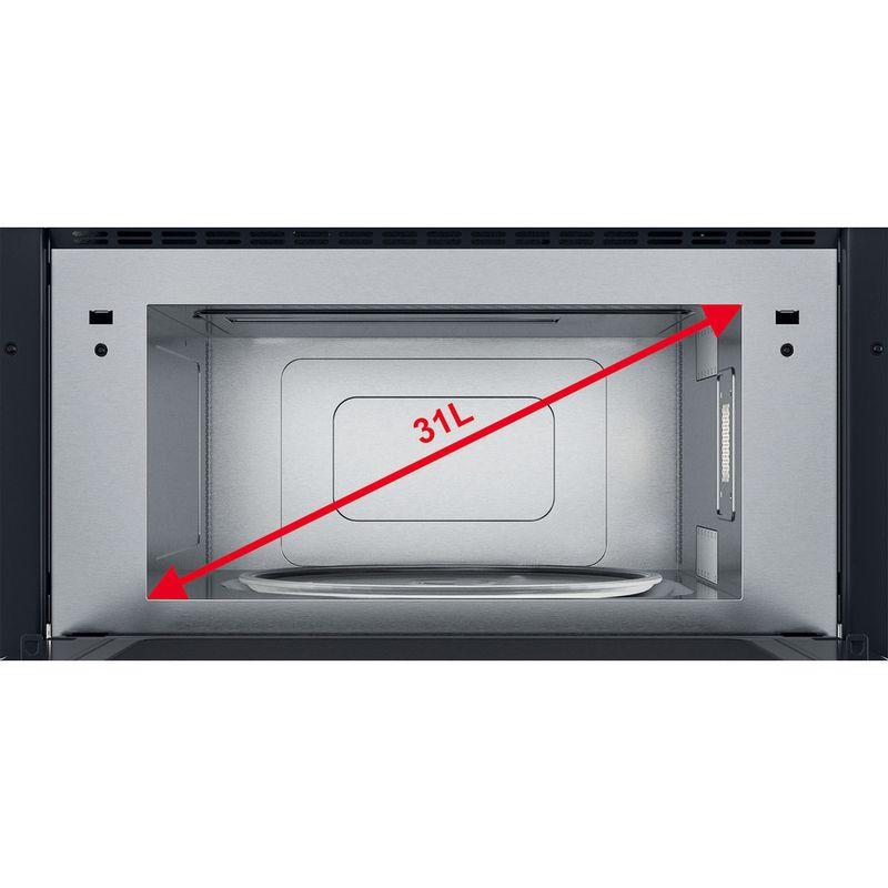 Whirlpool-Microonde-Da-incasso-AMW-731-IX-Stainless-Steel-Elettronico-31-Microonde---grill-1000-Cavity