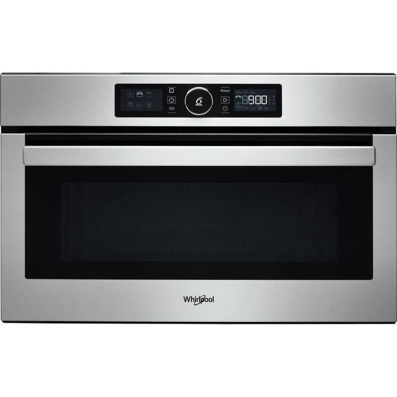 Whirlpool-Microonde-Da-incasso-AMW-730-IX-Stainless-Steel-Elettronico-31-Microonde---grill-1000-Frontal