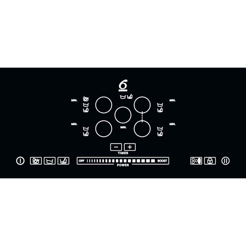 Whirlpool-Piano-cottura-ACM-795-BA-Nero-Induction-vitroceramic-Control-panel