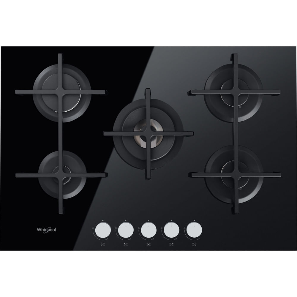 Whirlpool Piano cottura a gas GOA 7523/NB : guarda le specifiche e scopri le funzioni innovative degli elettrodomestici per casa e famiglia.