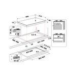 Whirlpool-Piano-cottura-GOA-9523-NB-Nero-GAS-Technical-drawing
