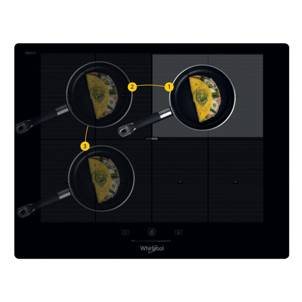 Whirlpool Piano cottura a induzione SMP 658C/NE/IXL : guarda le specifiche e scopri le funzioni innovative degli elettrodomestici per casa e famiglia.