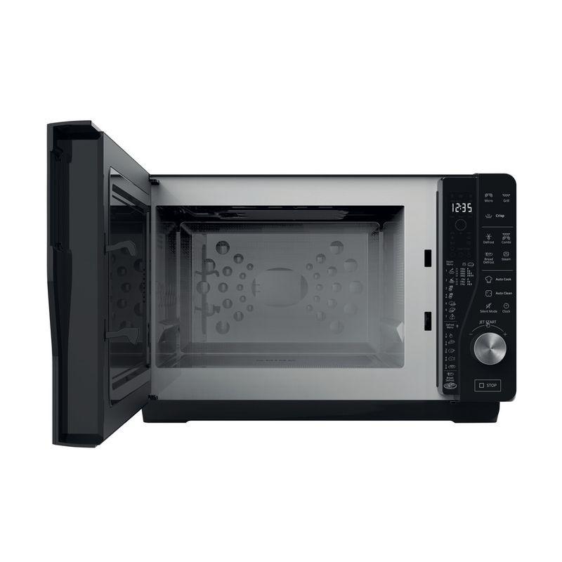 Whirlpool-Microonde-A-libera-installazione-MWF-427-SL-Argento-Elettronico-25-Microonde---grill-800-Frontal-open
