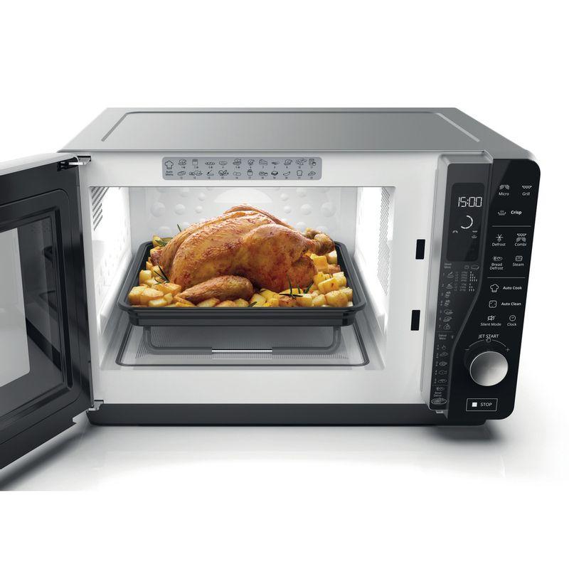 Whirlpool-Microonde-A-libera-installazione-MWF-427-SL-Argento-Elettronico-25-Microonde---grill-800-Lifestyle-frontal-open