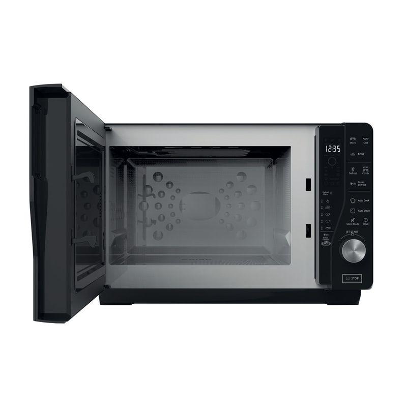 Whirlpool-Microonde-A-libera-installazione-MWF-426-SL-Argento-Elettronico-25-Microonde---grill-800-Frontal-open