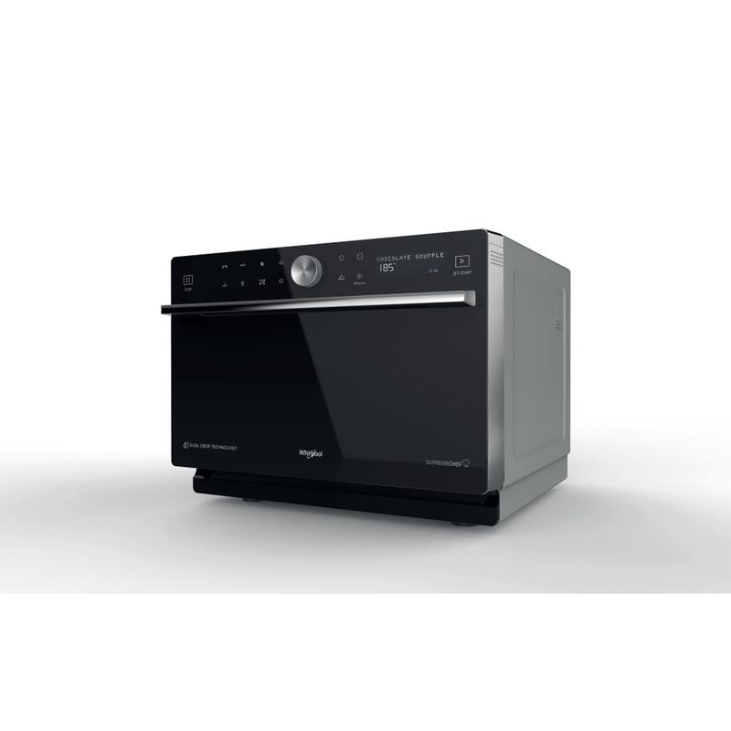 Whirlpool-Microonde-A-libera-installazione-MWP-3391-SB-Argento-Elettronico-33-Microonde-combinato-1000-Perspective