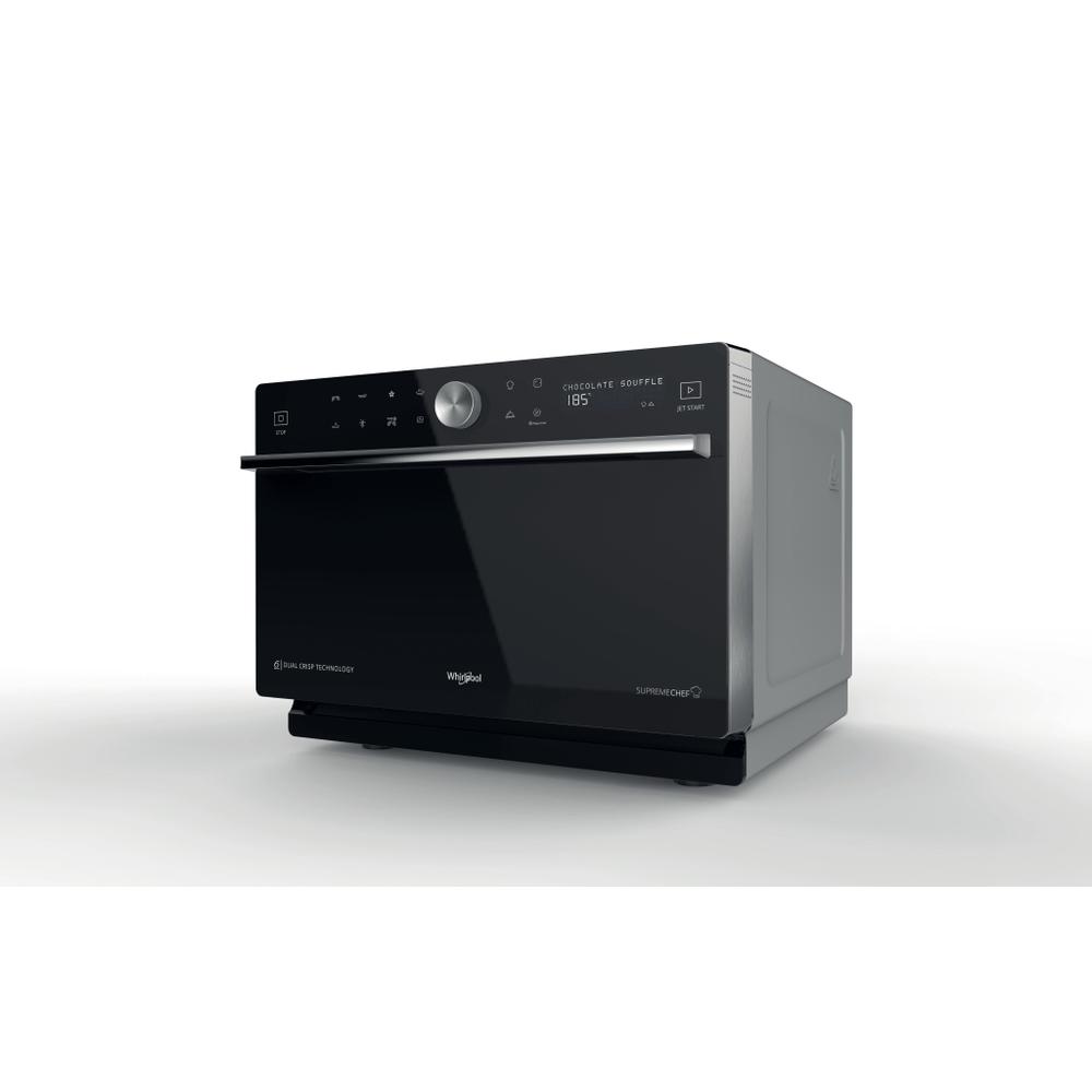 Whirlpool Microonde a libera installazione MWP 3391 SB : guarda le specifiche e scopri le funzioni innovative degli elettrodomestici per casa e famiglia.