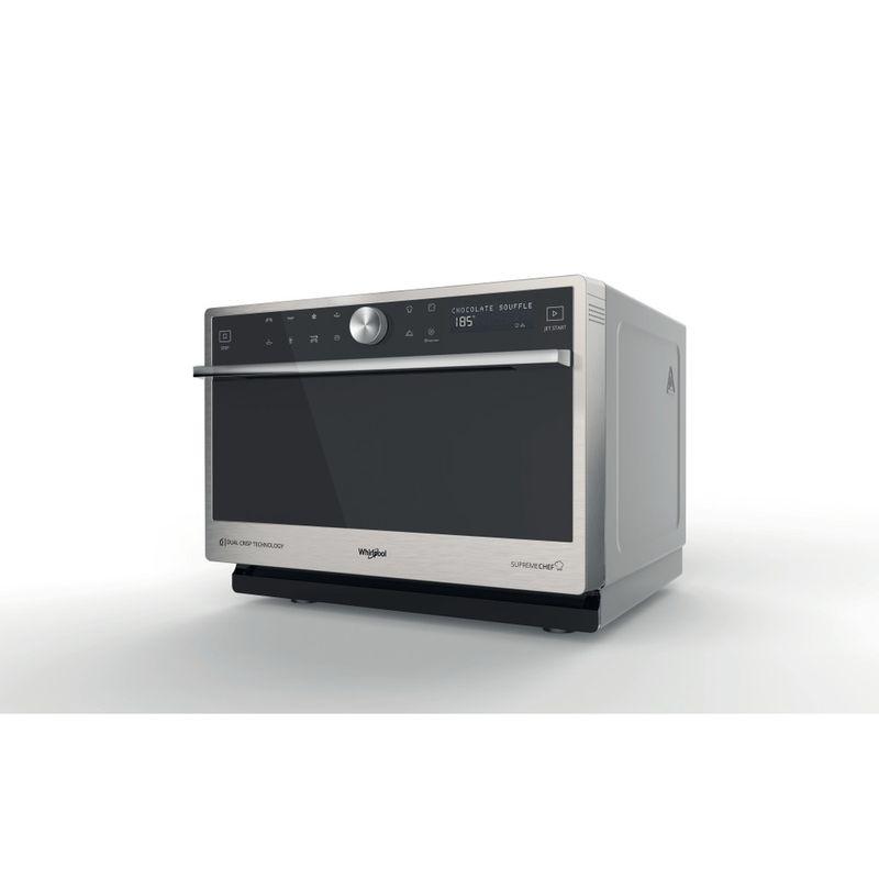 Whirlpool-Microonde-A-libera-installazione-MWP-3391-SX-Inox-Elettronico-33-Microonde-combinato-1000-Perspective