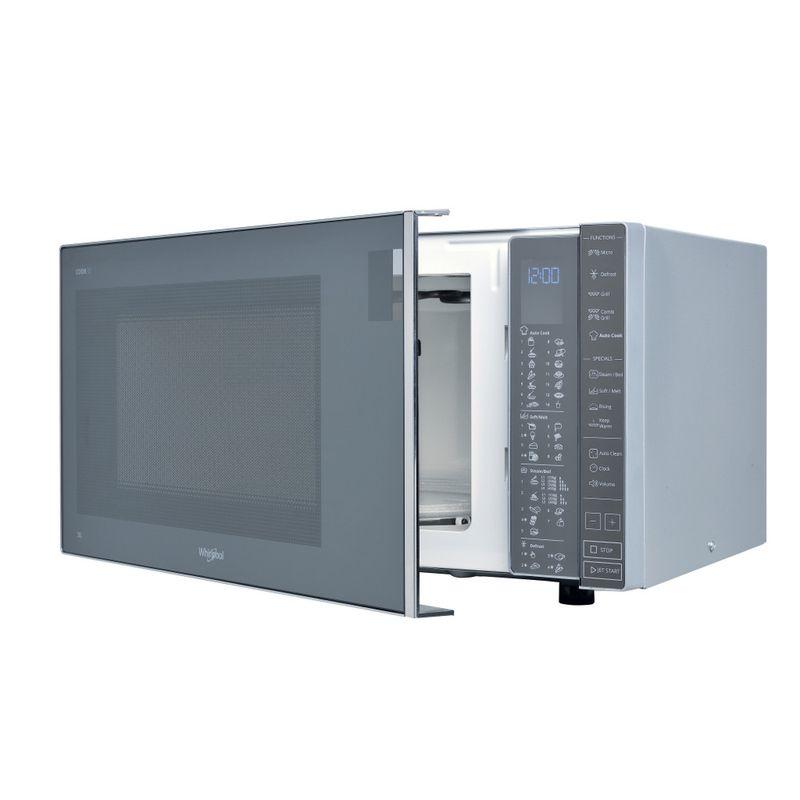 Whirlpool-Microonde-A-libera-installazione-MWP-304-M-Specchio-Elettronico-30-Microonde---grill-900-Perspective-open