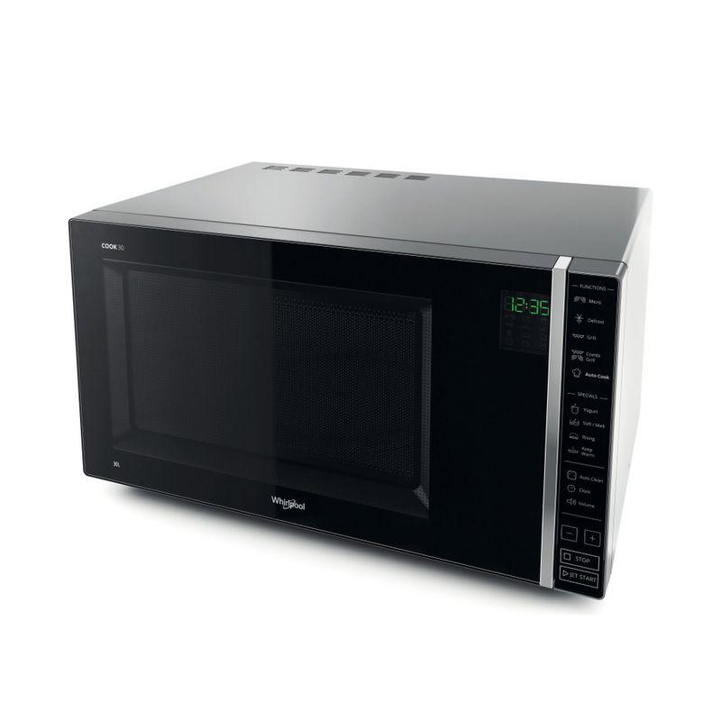 Whirlpool-Microonde-A-libera-installazione-MWP-303-SB-Argento-Elettronico-30-Microonde---grill-900-Perspective