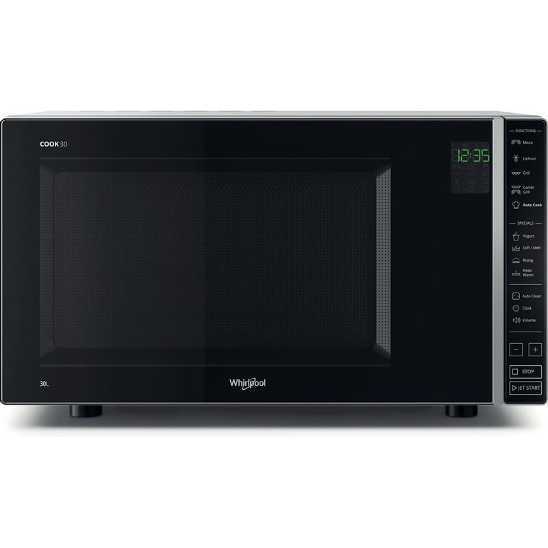 Whirlpool-Microonde-A-libera-installazione-MWP-303-SB-Argento-Elettronico-30-Microonde---grill-900-Frontal