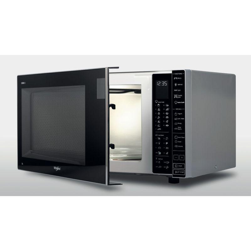 Whirlpool-Microonde-A-libera-installazione-MWP-303-SB-Argento-Elettronico-30-Microonde---grill-900-Perspective_Open