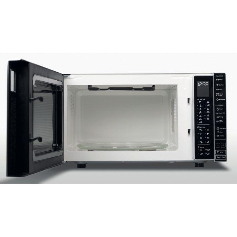 Whirlpool-Microonde-A-libera-installazione-MWP-303-SB-Argento-Elettronico-30-Microonde---grill-900-Frontal_Open