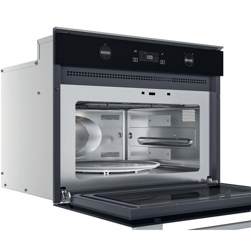 Whirlpool-Microonde-Da-incasso-W7-MW561-Stainless-Steel-Elettronico-40-Microonde-combinato-900-Perspective-open