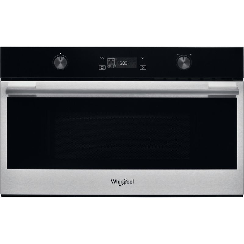 Whirlpool-Microonde-Da-incasso-W7-MD540-Stainless-Steel-Elettronico-31-Microonde---grill-1000-Frontal
