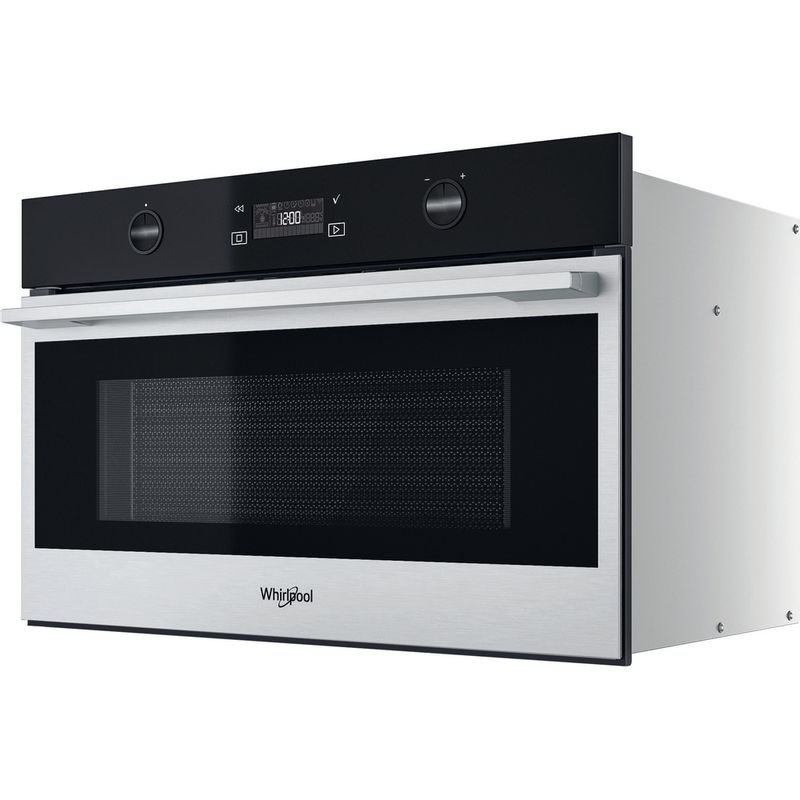 Whirlpool-Microonde-Da-incasso-W7-MD540-Stainless-Steel-Elettronico-31-Microonde---grill-1000-Perspective