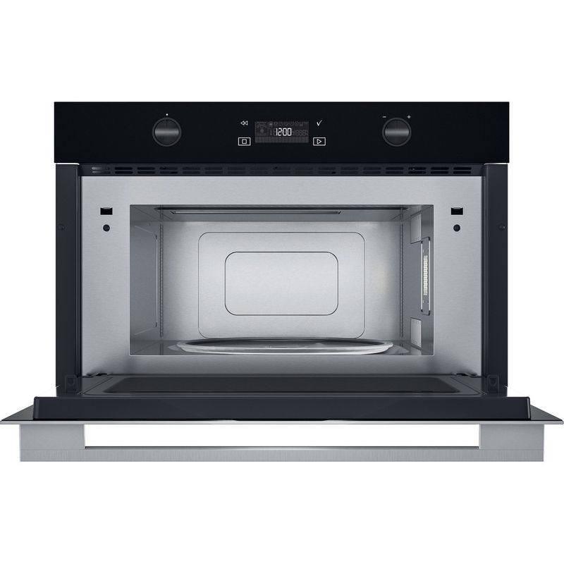 Whirlpool-Microonde-Da-incasso-W7-MD540-Stainless-Steel-Elettronico-31-Microonde---grill-1000-Frontal-open