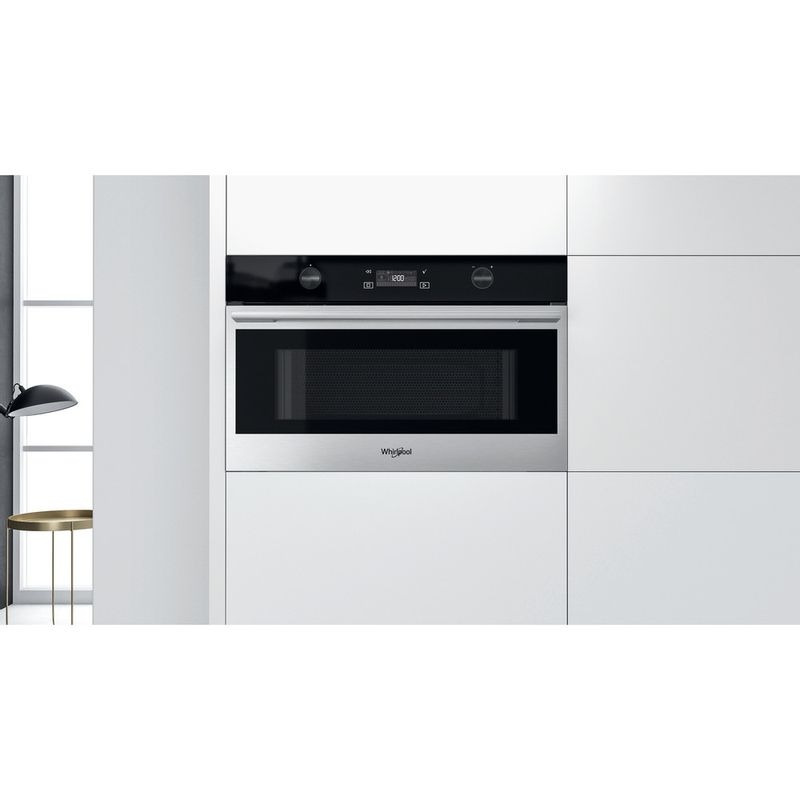 Whirlpool-Microonde-Da-incasso-W7-MD540-Stainless-Steel-Elettronico-31-Microonde---grill-1000-Lifestyle-frontal