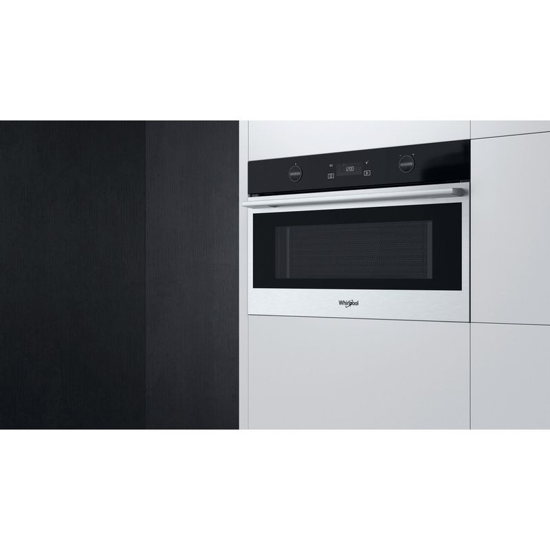 Whirlpool-Microonde-Da-incasso-W7-MD540-Stainless-Steel-Elettronico-31-Microonde---grill-1000-Lifestyle-perspective