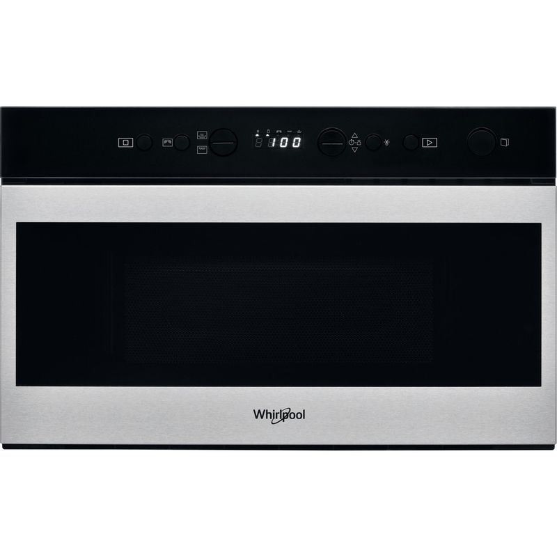 Whirlpool-Microonde-Da-incasso-W7-MN840-Stainless-Steel-Elettronico-22-Microonde---grill-750-Frontal