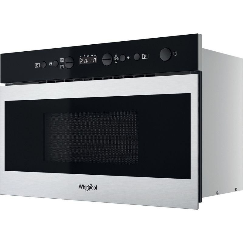 Whirlpool-Microonde-Da-incasso-W7-MN840-Stainless-Steel-Elettronico-22-Microonde---grill-750-Perspective