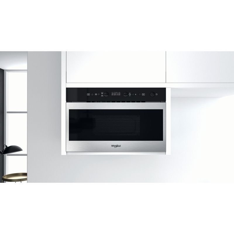 Whirlpool-Microonde-Da-incasso-W7-MN840-Stainless-Steel-Elettronico-22-Microonde---grill-750-Lifestyle-frontal