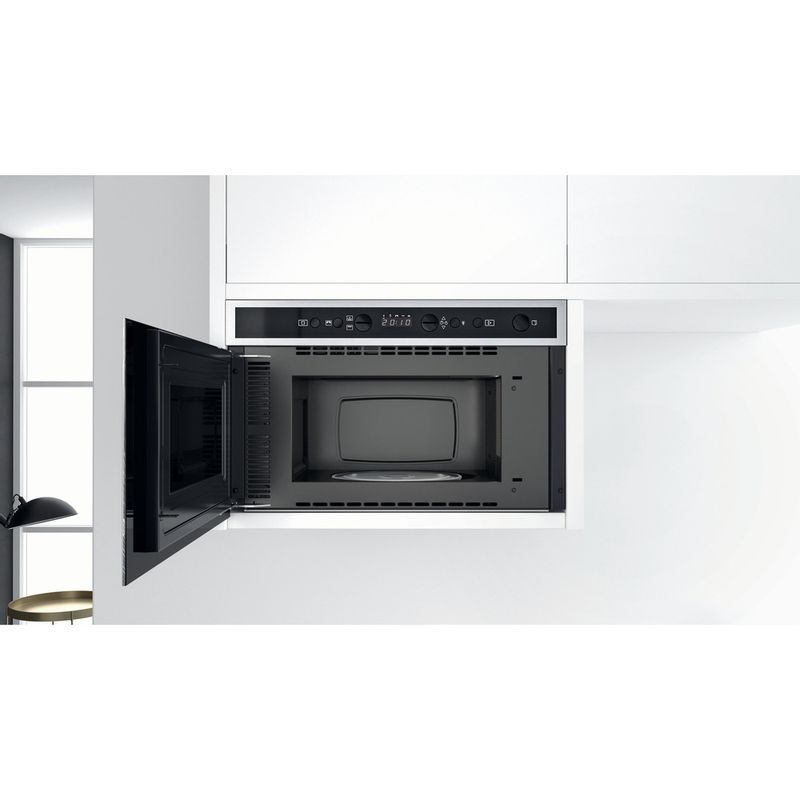 Whirlpool-Microonde-Da-incasso-W6-MN840-Stainless-Steel-Elettronico-22-Microonde---grill-750-Lifestyle-frontal-open