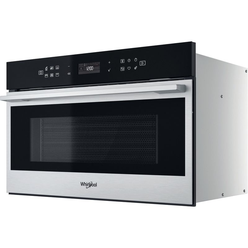 Whirlpool-Microonde-Da-incasso-W7-MD440-Stainless-Steel-Elettronico-31-Microonde---grill-1000-Perspective