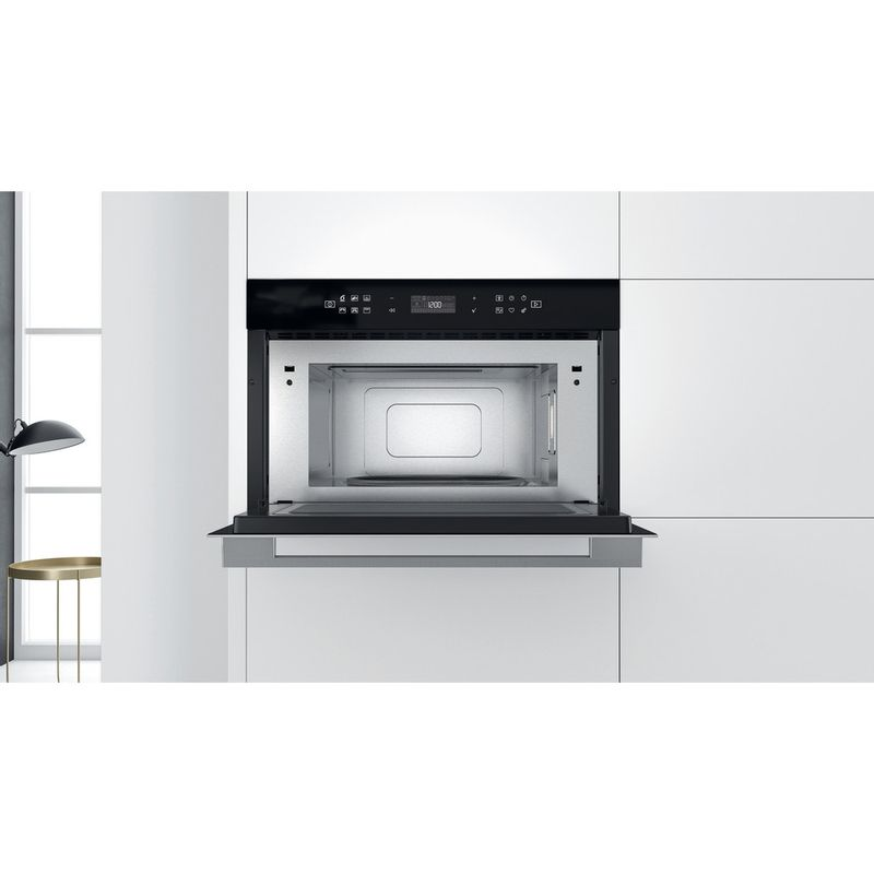 Whirlpool-Microonde-Da-incasso-W7-MD440-Stainless-Steel-Elettronico-31-Microonde---grill-1000-Lifestyle-frontal-open